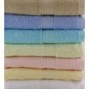 parure serviette + gant de toilette