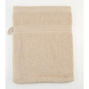 gant de toilette brodé